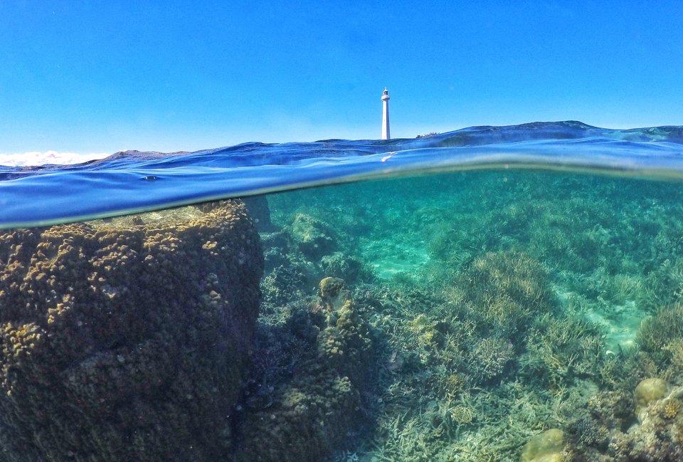 Amedee Island (45min by boat from Noumea)