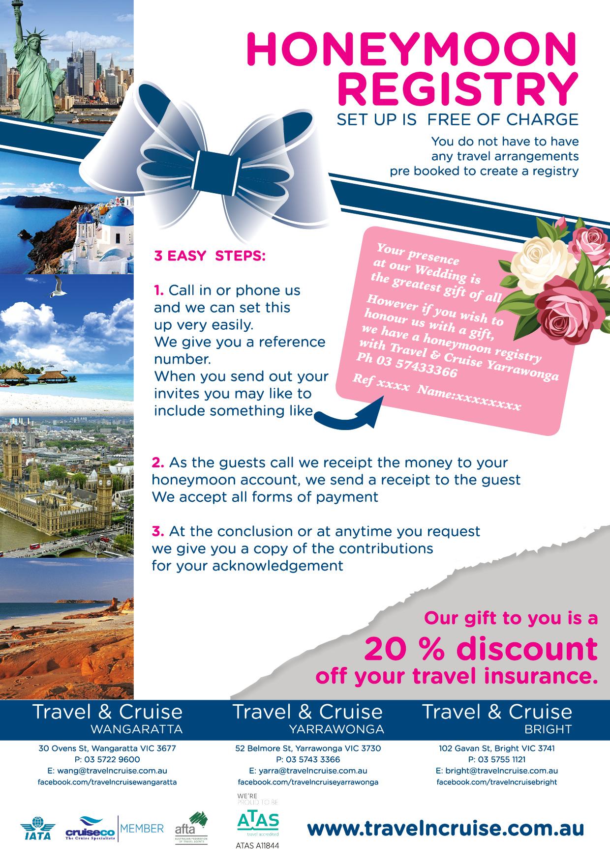 Wedding Registry Flyer Timiznceptzmusic